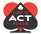 First To Act Poker Logo
